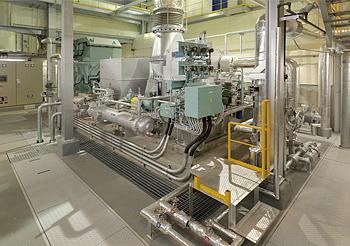 蒸気タービン発電機